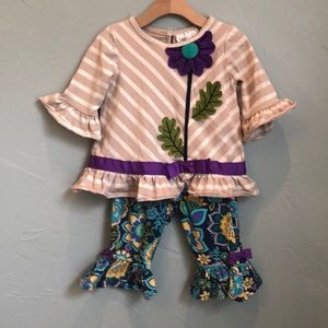 Rare Editions infant girl outfit
